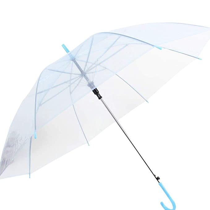 aeaf97b78eee Weixinbuy Clear Transparent Rain Umbrella Parasol PVC Dome