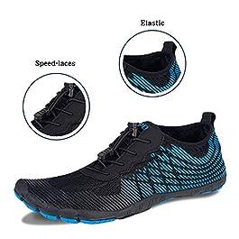 Mabove Chaussures Aquatiques Homme Femme Chaussures d'eau Chaussures de Piscine et Plage Chaussures de Plongée…