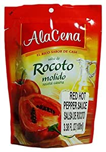 Amazon.com : AlaCena Salsa de Rocoto Molido Red Hot Pepper