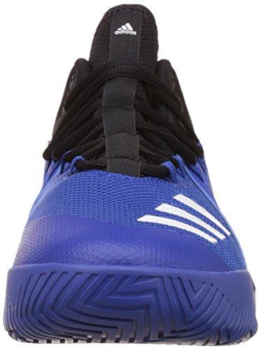 Adidas Street Jam 3, Scarpe da Ginnastica Uomo, Nero (Negbas/Ftwbla/Reauni), 47 EU