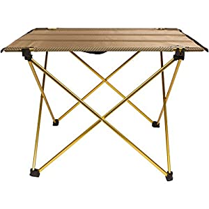 Trekology Foldable Camping Picnic Tables - Portable Compact Lightweight Folding Roll-Top Table in a Bag – Small, Light, and Easy to Carry for Camp, Beach, Outdoor