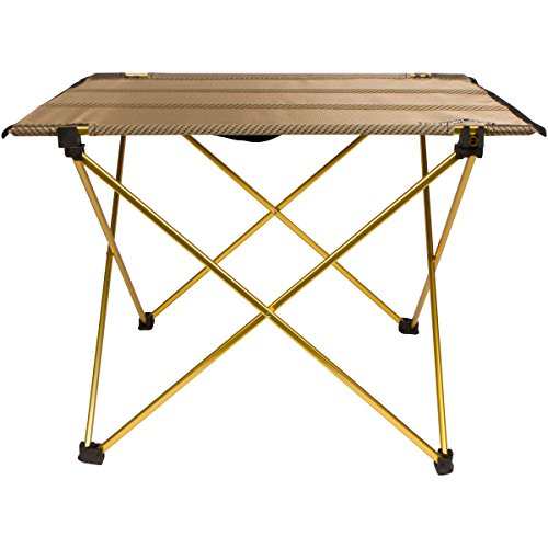 instecho Trekology Foldable Camping Picnic Tables - Portable Compact Lightweight Folding Roll-Top Table in a Bag – Small, Light Easy to Carry Camp, Beach, Outdoor