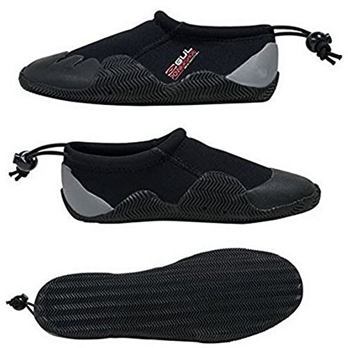 Gul 3mm Blindstitched Wetsuit Power Shoes Black PM857M8T6