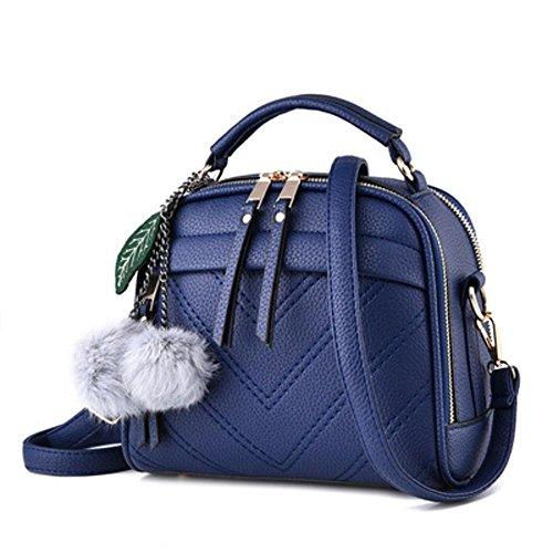 Aoligei Femme sac messager de version coréenne Fashion tendance sac à main sac pu épaule sacs jeRY5