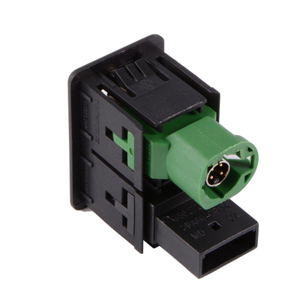 XCSOURCE® USB Aux Schalter + Draht Kabel Adapter: Amazon.de ...
