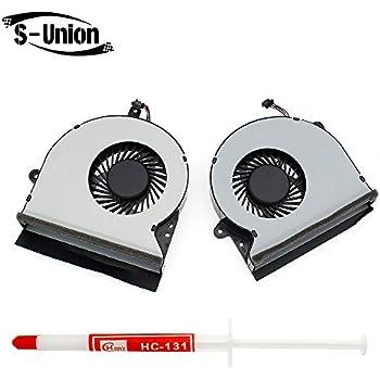 GPU Cooling Fan 2 Fans for Asus G751 G751J G751M G751JY G75 Hk-Part Laptop CPU