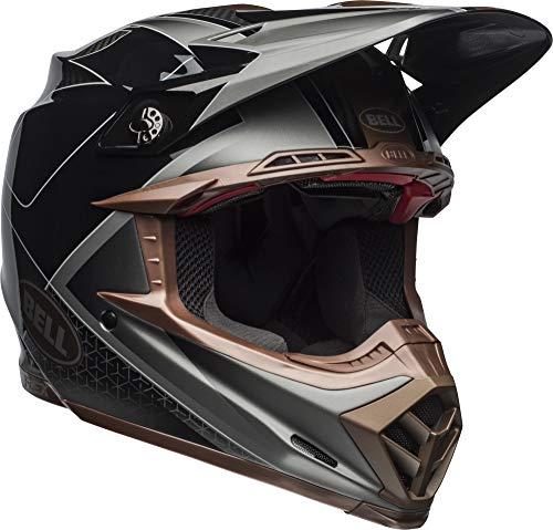 Bell Moto-9 Flex Off-Road Motorcycle Helmet (Hound Matte/Gloss Black/Bronze, ()