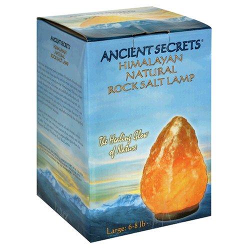 Ancient Secrets Rock Salt Lamp, Himalayan Natural, Large, 1 Lamp