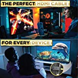 PowerBear 4K HDMI Cable 10 ft | High Speed, Braided