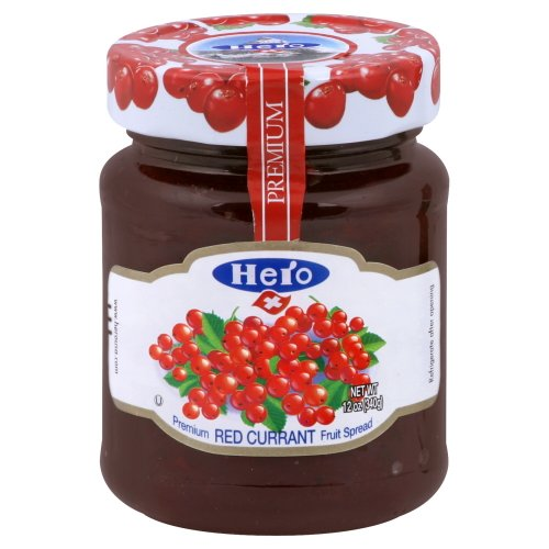 Hero Fruit Spread, Red Currant, 12-Ounce (Pack of 8)