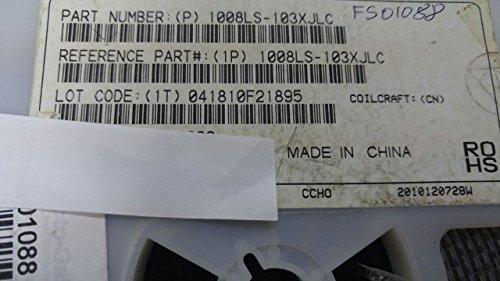 1238 X COILCRAFT 1008LS-103XJLC RF Inductor, ferrite core, 5% tol