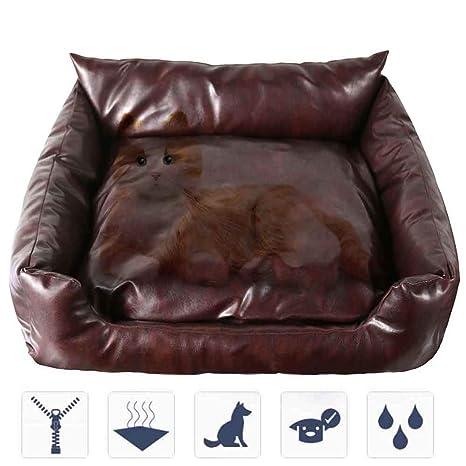 ACLBB Colchón de PU para Mascotas, sofá para Mascotas, cojín ...