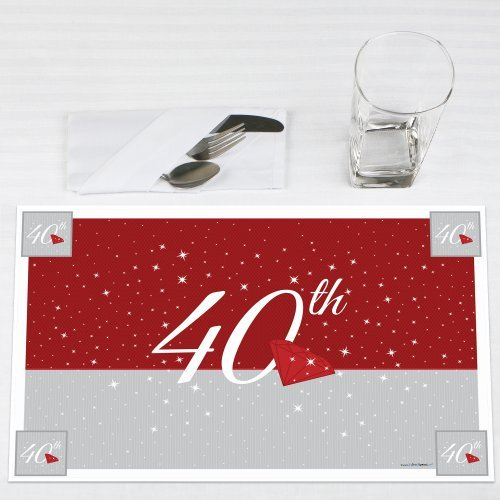 40th-Anniversary-Party-Placemats-Set-of-12