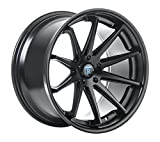 Rohana Wheels RC10 Black Wheel (19x8.5''/5x120mm, +15mm offset)