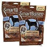 SmartBones Peanut Butter FamilyValue 2Pack(48PiecesMini)