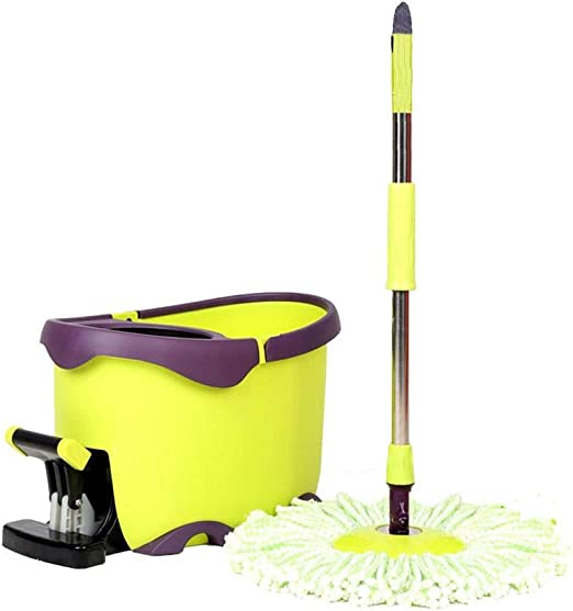 Trapeador Spinning Mop and Bucket Cleaning Set Pedal ...