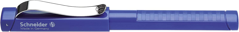 colore blu artico Schneider Base pennino medio Penna stilografica