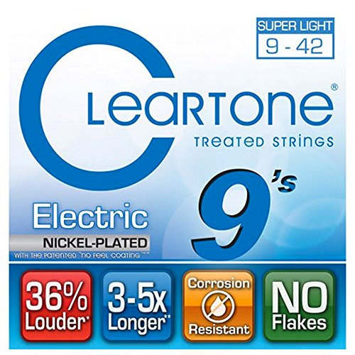 Cleartone Electric .009-.042 Super Light Strings by Cleartone Strings
