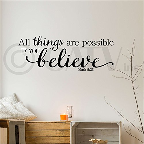 All Things Possible Believe Mark product image
