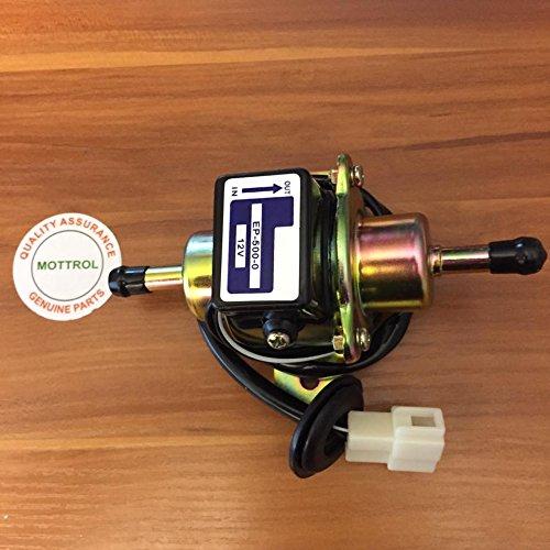 (Diesel Petrol Gasoline 12V EP-500-0 Electric Fuel Pump for YANMAR Low Pressure Fuel Pump for Carburetor,)