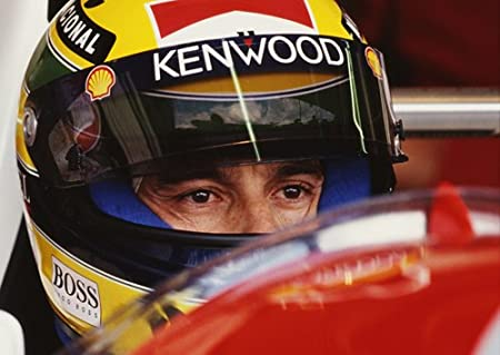 Ayrton Senna 3 A4 Formula 1 Race Legend Motivational Inspirational Print Picture