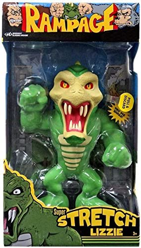 Amazon Com Rampage Super Stretch Lizzie Exclusive Figure 6 With