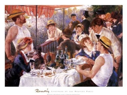 A Fine Art Jigsaw Puzzle - Luncheon of the Boating Party by Pierre August Renior (More Than 500 pieces)