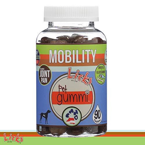 New! Licks Dog Mobility Pet Gummi Vitamins - 90-Count