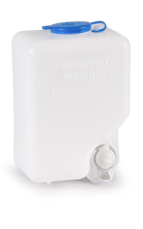 wellenshop Set Universal Scheibenwaschanlage mit Pumpe und Schlauch 12 V komplett Scheibenwischer Reinigung Spr/ühsystem Scheibenwasch-System