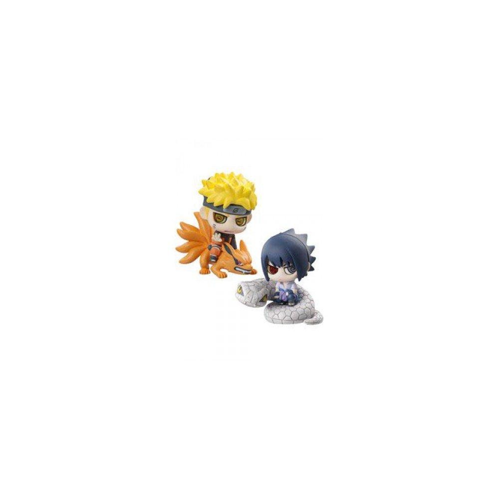 Ninjutsu Activate  Set 2 figures 6 Cm Naruto Shippouden Petit Chara Land series