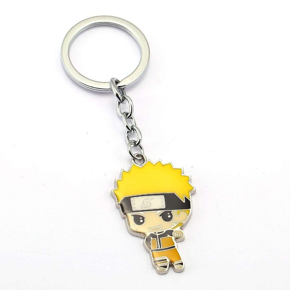 Amazon.com : Key Chains - 10pcs/lot Naruto Keychain Figure ...