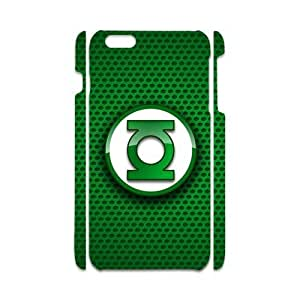 iPhone6 Plus Style Green Lantern Symbol Case Cover for iPhone6 Plus 5.5 (Laser Technology)