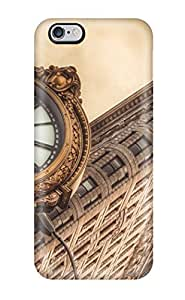 Hot Design Premium YWbrCqn1281Kcbdp PC Case For Sumsung Galaxy S4 I9500 Cover Protection Case(flatiron Building New York City Architecture Clocks Cities Angle Nature Other)