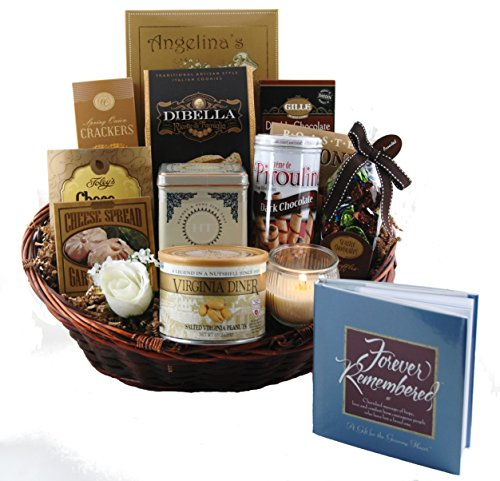 Forever Remembered Sympathy Gift Basket - Large (Thoughtful Gift Baskets)