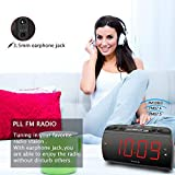 DreamSky Digital Alarm Clock Radio with USB