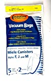 For MIELE Vacuums F J M (25 BAGS + 10 FILTERS)