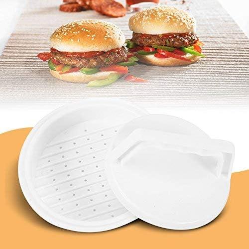 DIY Plastic Hamburger Patty Meat Compactor Press Mold Grill Burger ...