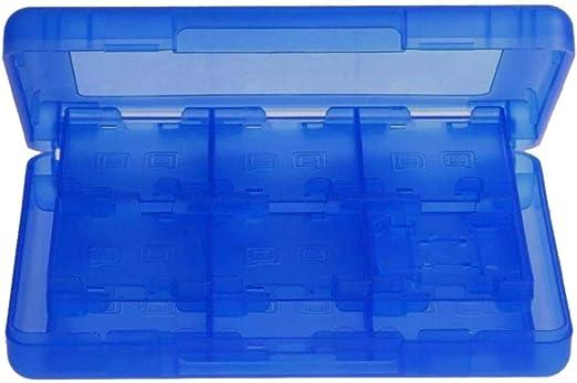 quysvnvqt - Caja de Almacenamiento para Nintendo Switch, 12 en 1, Azul, Talla única: Amazon.es: Hogar