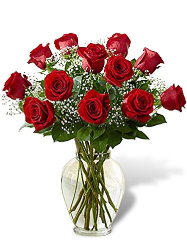 Classic Dozen Roses by Flowers of Miami - Fresh Flowers Hand Delivered - Miami Area by Flowers of Miami