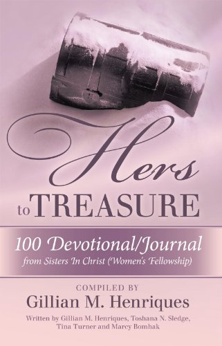 hers to treasure 100 devotional journal from sisters in christ