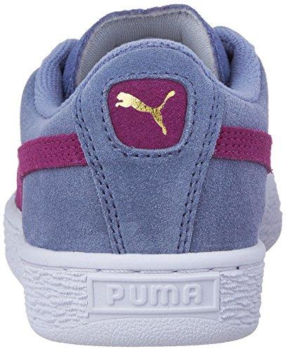 PUMA Suede Jr Classic Kinder Sneaker (kleines Kind / großes Kind) Sturm / Stockrose