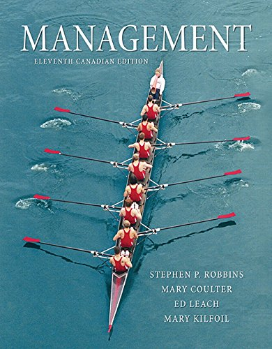 Management, Eleventh Canadian Edition (11th Edition)