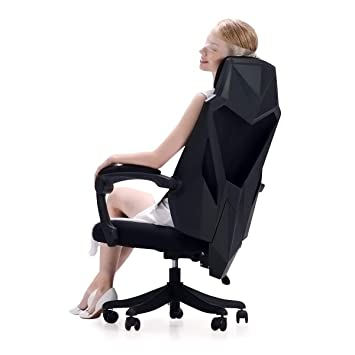 Amazon.com: Hbada silla de escritorio de oficina – Silla ...