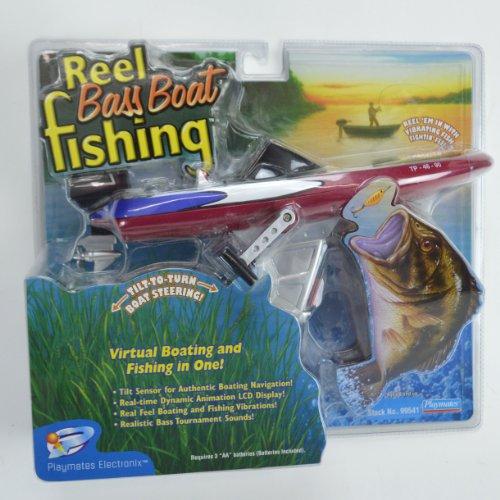 Reel Bass Boat Fishing Handheld Electronic Game ()