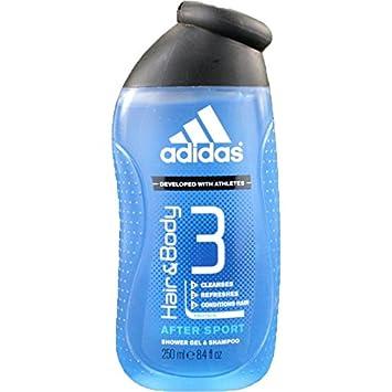 como eso condón por ejemplo  Adidas After Sport Hair & Body Shower Gel New Design Set of 6