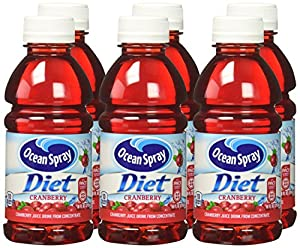 Ocean Spray Cranberry Juice Drink, Diet, 10 Ounce (Pack of 6)