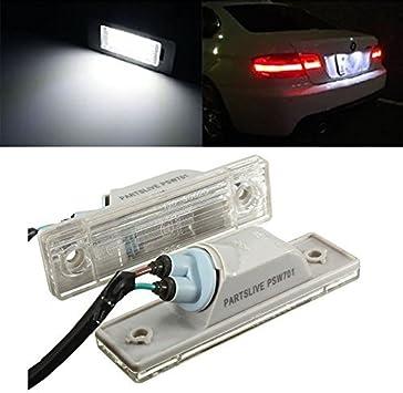 TUINCYN DC12V License Plate LED Light Led Super White Driving Lamp Pack of 2