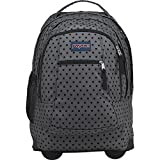 JanSport Driver 8 Rolling Backpack (Black Dot-O-Rama)