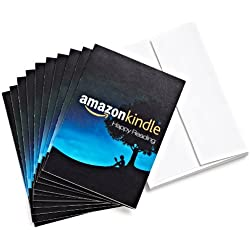 Amazon.com $25 Gift Cards, Pack of 10 with Greeting Cards (Amazon Kindle Design)