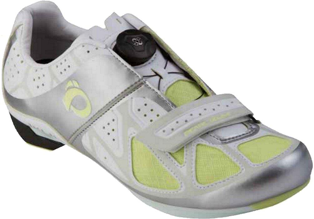 Pearl Izumi - Ride Women's W Race RD III Cycling Shoe,White/Silver,37 EU/6.0 D US